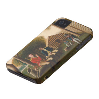 Marion Feasting the British Officer iPhone 4 Case-Mate Cases