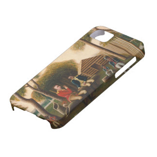 Marion Feasting the British Officer iPhone SE/5/5s Case