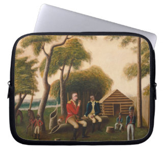 Marion Feasting the British Officer Laptop Computer Sleeves