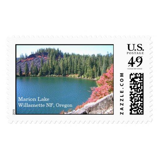 Marion Lake Stamp