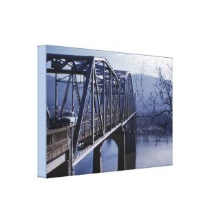 Marion Memorial Bridge Canvas Print