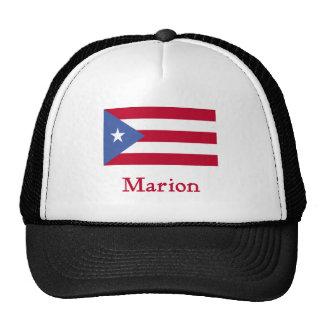 Marion Puerto Rican Flag Trucker Hat