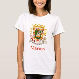Marion Puerto Rico Shield T-Shirt