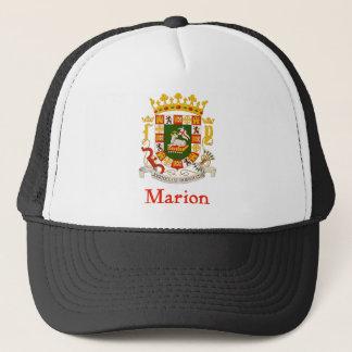 Marion Puerto Rico Shield Trucker Hat