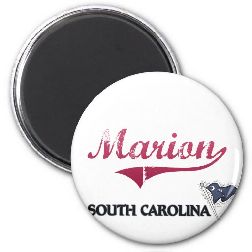Marion South Carolina City Classic Magnets