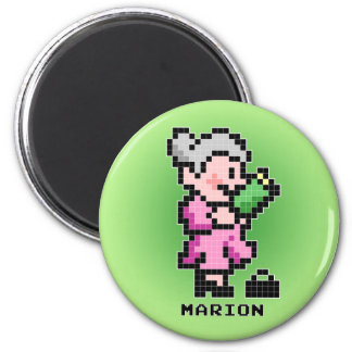 Marion the Librarian Magnet