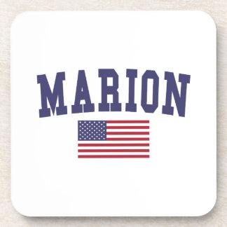 Marion US Flag Coaster