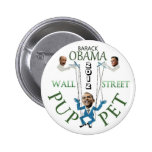 Marioneta de Wall Street Pins