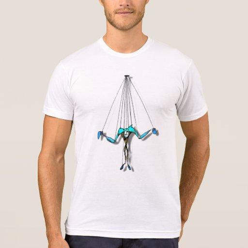 Marioneta en secuencias camiseta