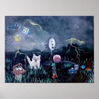 Marioneta - impresión poster