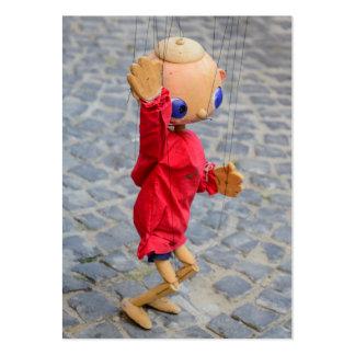 Marioneta Plantillas De Tarjetas Personales
