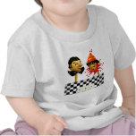 Marionetas del payaso de circo camisetas