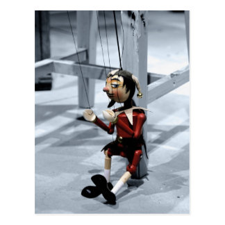 Marionette Postcard