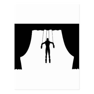 Marionette Puppet Postcard