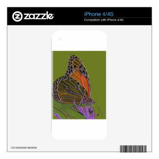 Mariposa 10 calcomanía para iPhone 4S