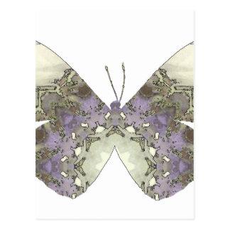 Mariposa 10 de la mandala postal