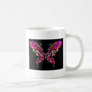 mariposa 12mug taza