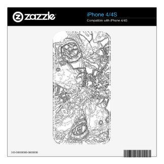 Mariposa 14 skins para iPhone 4S