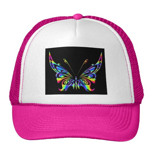 mariposa 15chat gorros bordados