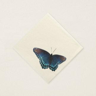 mariposa 16 servilleta de papel