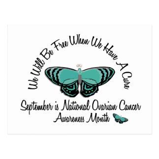 Mariposa 1,1 del mes de la conciencia del cáncer postal
