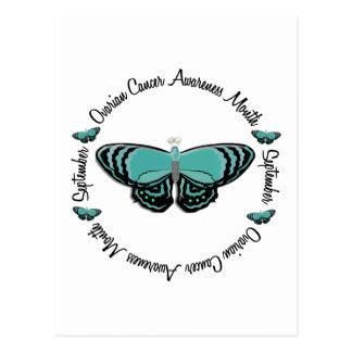 Mariposa 1,3 del mes de la conciencia del cáncer postal