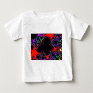 Mariposa 1 de la luz del negro de las imágenes de tee shirts