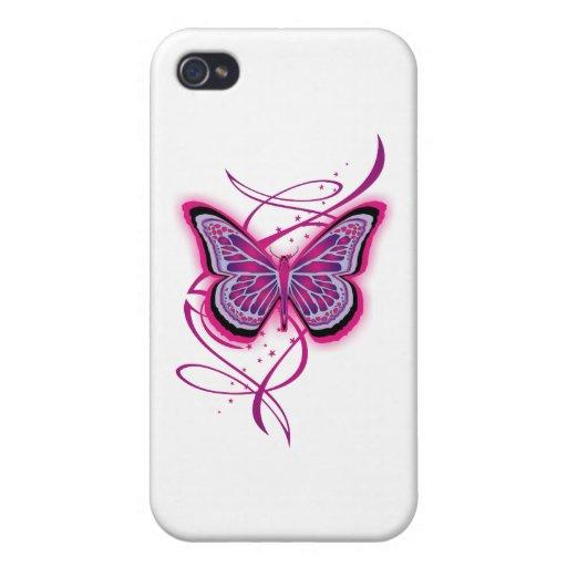 Mariposa 1 iPhone 4 fundas
