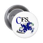 Mariposa 2 CFS del vitral Pin