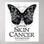 Mariposa 2 del cáncer de piel impresiones