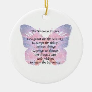 Mariposa 2 del rezo de la serenidad ornatos