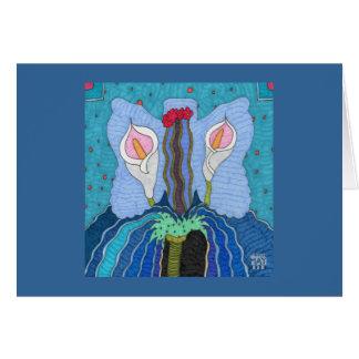 Mariposa 2 tarjeta pequeña