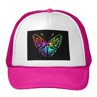mariposa 2chat gorros bordados