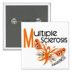 MARIPOSA 3,1 de la esclerosis múltiple del ms Pins