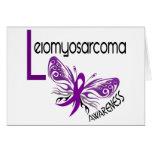 MARIPOSA 3,1 de Leiomyosarcoma Felicitaciones