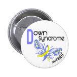 MARIPOSA 3,1 de Síndrome de Down Pins