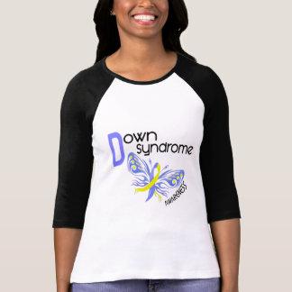 MARIPOSA 3,1 de Síndrome de Down Camiseta