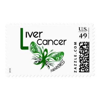 MARIPOSA 3,1 del cáncer de hígado Timbre Postal