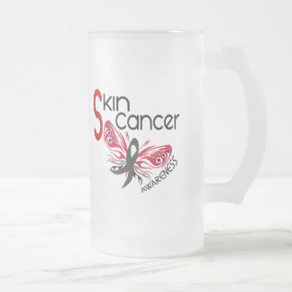 MARIPOSA 3,1 del cáncer de piel Tazas