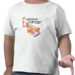 MARIPOSA 3,1 del cáncer endometrial Camiseta