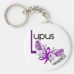 MARIPOSA 3,1 del lupus Llavero Personalizado