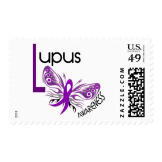 MARIPOSA 3,1 del lupus Sello