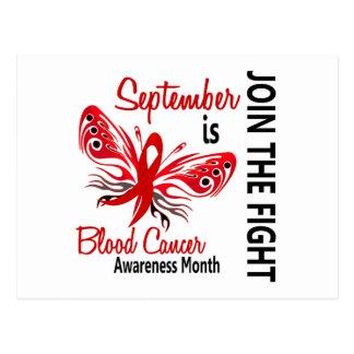 Mariposa 3,1 del mes de la conciencia del cáncer postal