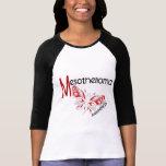 Mariposa 3,1 del mesotelioma camisetas