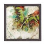 Mariposa 3 cajas de recuerdo de calidad