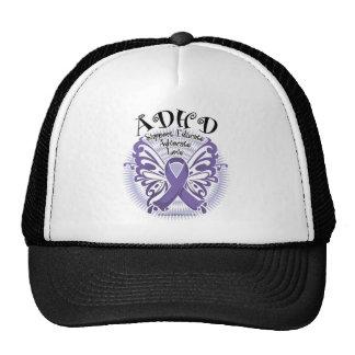 Mariposa 3 de ADHD Gorras