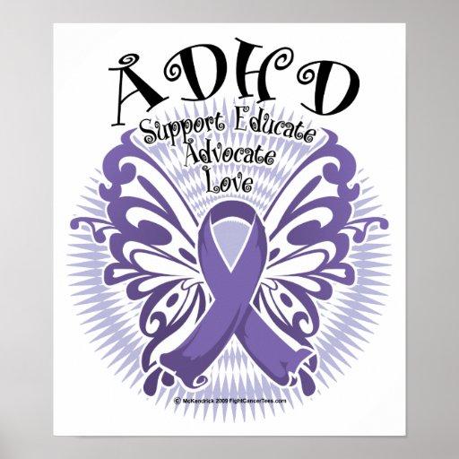 Mariposa 3 de ADHD Posters