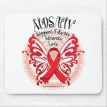Mariposa 3 de AIDS/HIV Alfombrillas De Raton