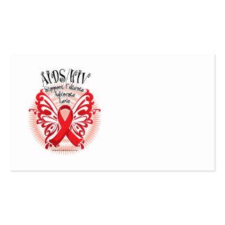Mariposa 3 de AIDS/HIV Tarjeta De Visita