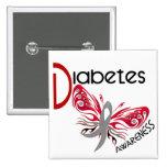 MARIPOSA 3 de la diabetes Pin